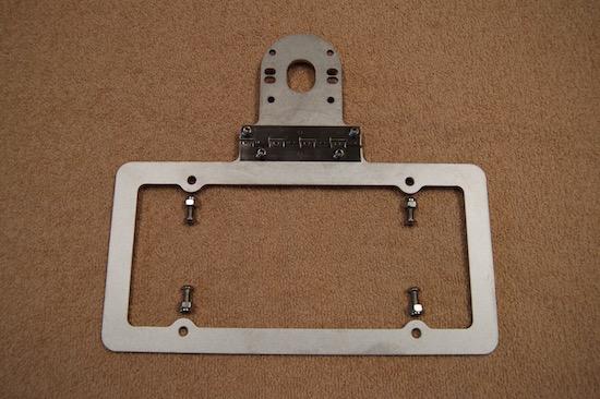 Aluminum License Plate Frame >> BOAT TRAILER LICENSE PLATE BRACKET HINGED