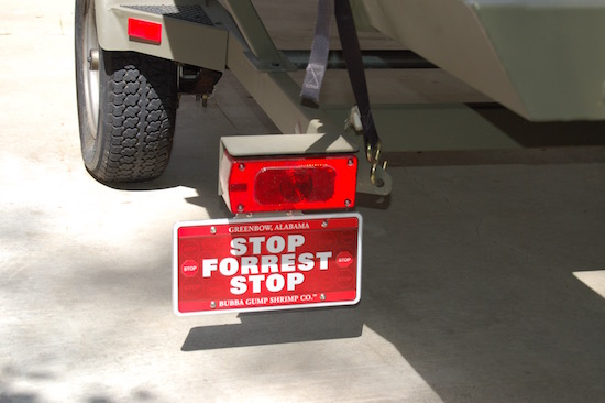 This is the first one installed on my TRACKER Grizzly trailer. I was happy as goat in a sesame field. & BOAT TRAILER LICENSE PLATE BRACKET HINGED